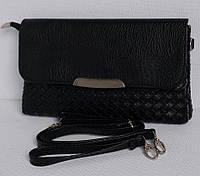 Женская сумочка-клатч. №1021 черный цвет.
