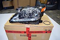 Передняя рестайлинговая фара Lexus LX 570 2013-2015 ЛЕВАЯ ORIGINAL
