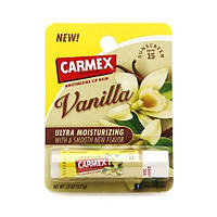 "Увлажняющий бальзам-стик для губ Carmex ""Ваниль"" Ultra Moisturizing Lip Balm SPF 15 Vanilla 4 г, фото 1"