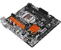 Материнская плата ASRock H110M-DGS (s1151/H110/DVI-D/PCI-E/SATA III)