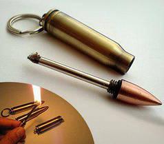 Бензиновая спичка-патрон (Огниво) АК-47 №2744