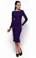 Вишукане фіолетове трикотажне плаття Elina (S-M, M-L)