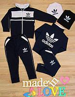 """Детский модный спортивный костюм """"Adidas"""" (86-92 см) 27П134"""