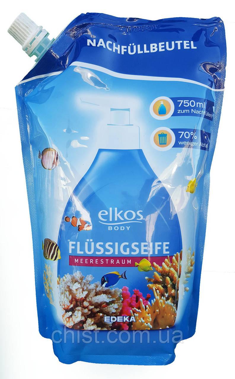 Elkos жидкое мыло Body Meerestraum (750 мл) Германия