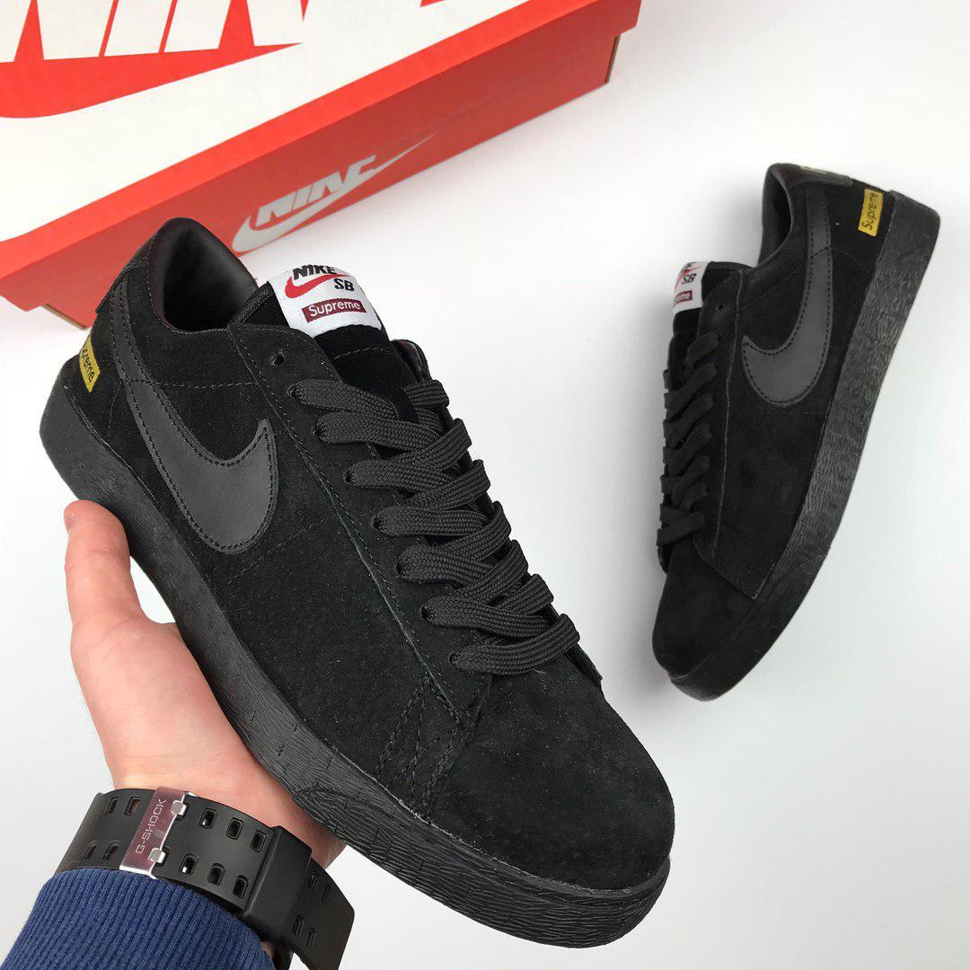 5aea40e1 Мужские кроссовки Nike SB Blazer Low GT Supreme, Копия - TopCross в Львове
