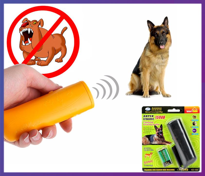 Ультразвуковий відлякувач собак AD-100