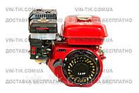 Двигатель бензиновый WEIMA BT170F-S2Р (шпонка, вал 20 мм,шкив на 2 ручья 76 мм), бензин 7.0 л.с.