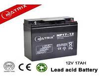 Акумуляторні батареї MATRIX NP17-12