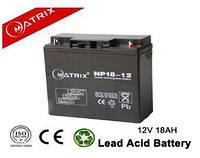 Акумуляторні батареї MATRIX NP18-12