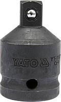 """Переходник ударный с  3/4"""" на  1/2"""" L- 55мм, YATO YT-11671"""