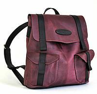 "Рюкзак ""Bag"" ручної роботи, натуральна шкіра, кожаный рюкзак, портфель"