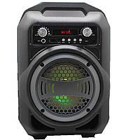 Портативная Bluetooth колонка BS-12 SUPER BASS SPEAKER, FM/USB/LED подсветка