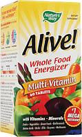 Nature's Way, Alive! Ежедневно Max3, мультивитамины, 30 таблеток
