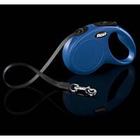 Поводок-рулетка Flexi Classic Compact  M лента (синий)