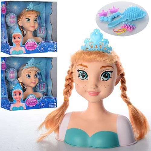 Лялька арт. L2015-61-62 голова для зачісок