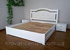 "Белая прикроватная тумбочка из дерева с ящиками ""Презент - 2"", фото 3"
