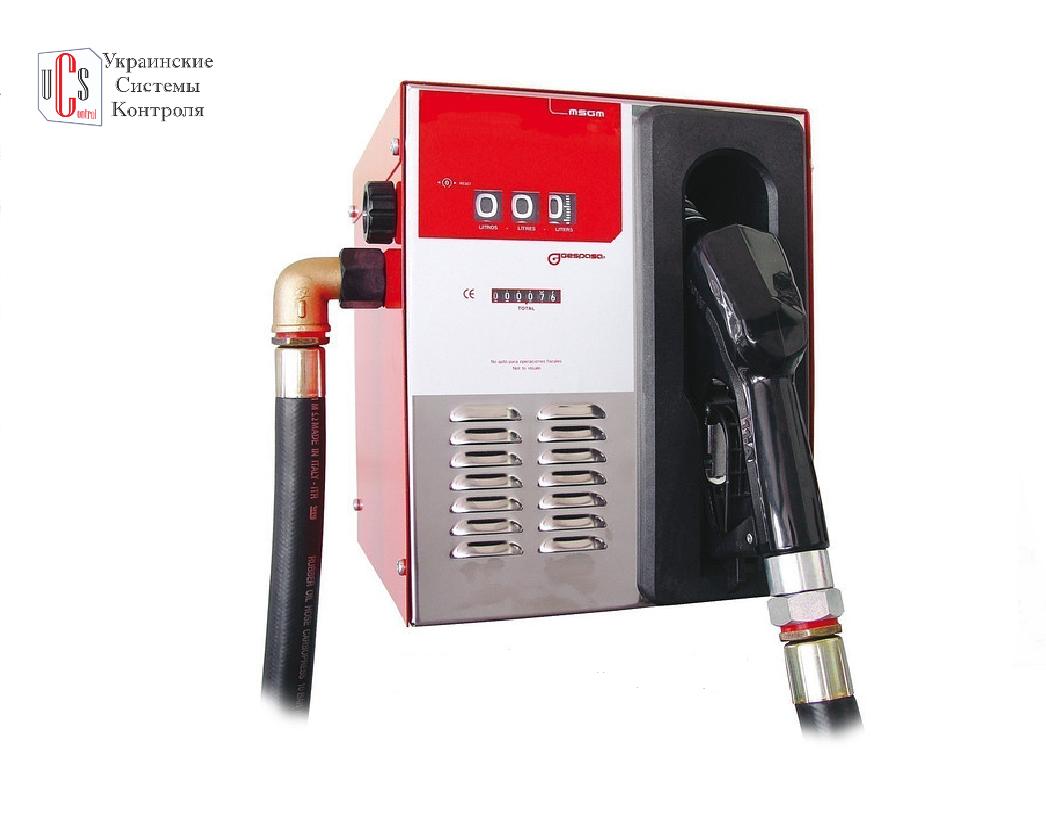 MINI MSGM-50080, 220 В - Мобільний заправний блок для заправки бензином або дт