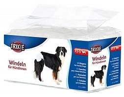 Trixie TX-23632 памперсы для собак 12шт (S-M)  (28-40 см)