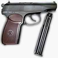 Пистолет пневматический SAS Makarov 4,5 мм + сертификат на 50 грн в подарок (код 186-53335)