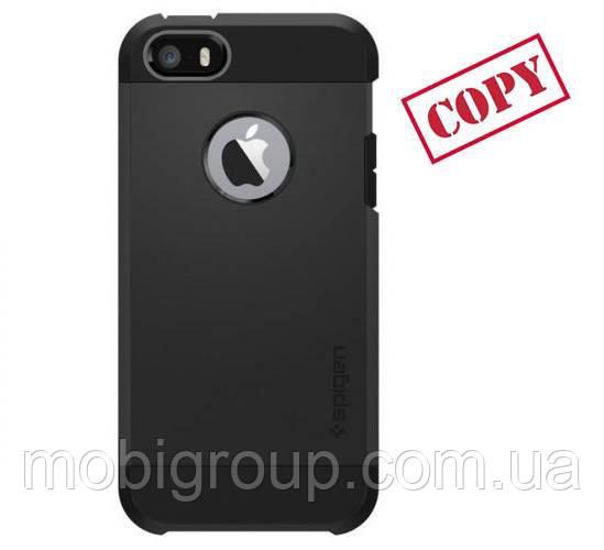 Чехол Spigen Slim Armor iPhone 7 (HQ-копия), Black