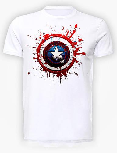 Футболка мужская GeekLand Капитан Америка Captain America shield CA.01.025
