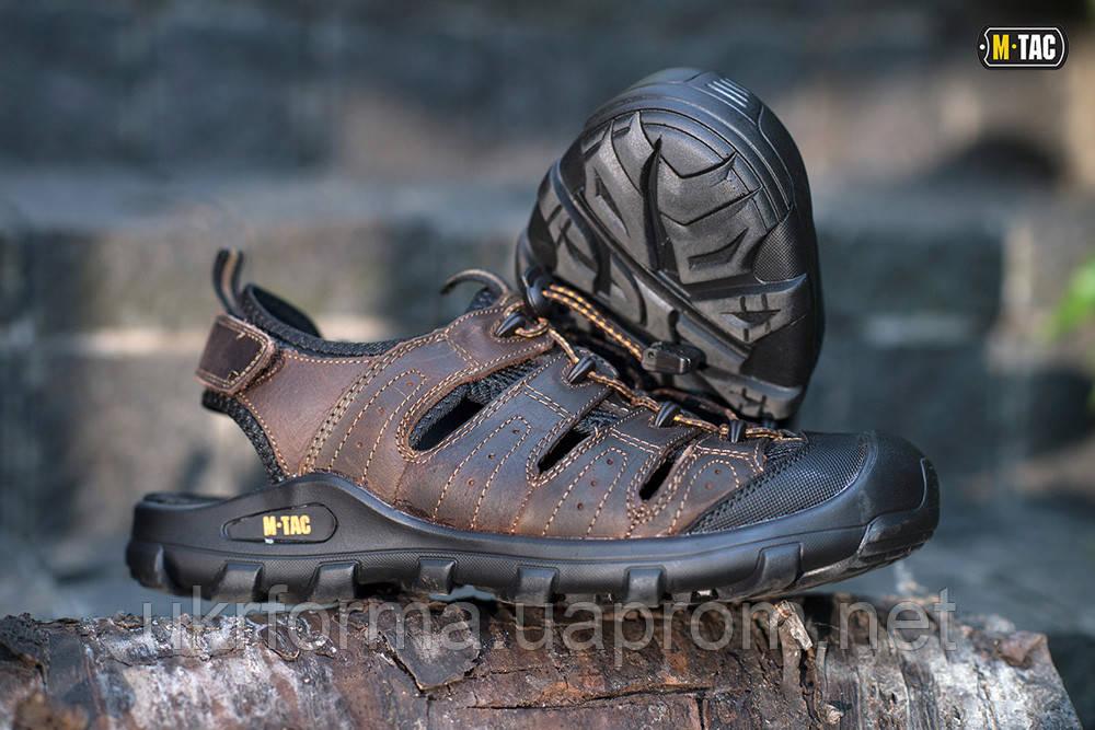 M-TAC сандалі шкіряні коричневі