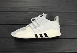 Кроссовки Adidas EQT grey/white. Живое фото. Топ качество! (Реплика ААА+)
