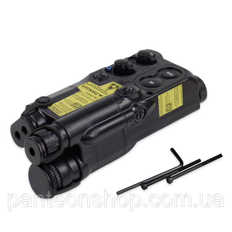 Конейнер для батареї PEQ-16 BLACK