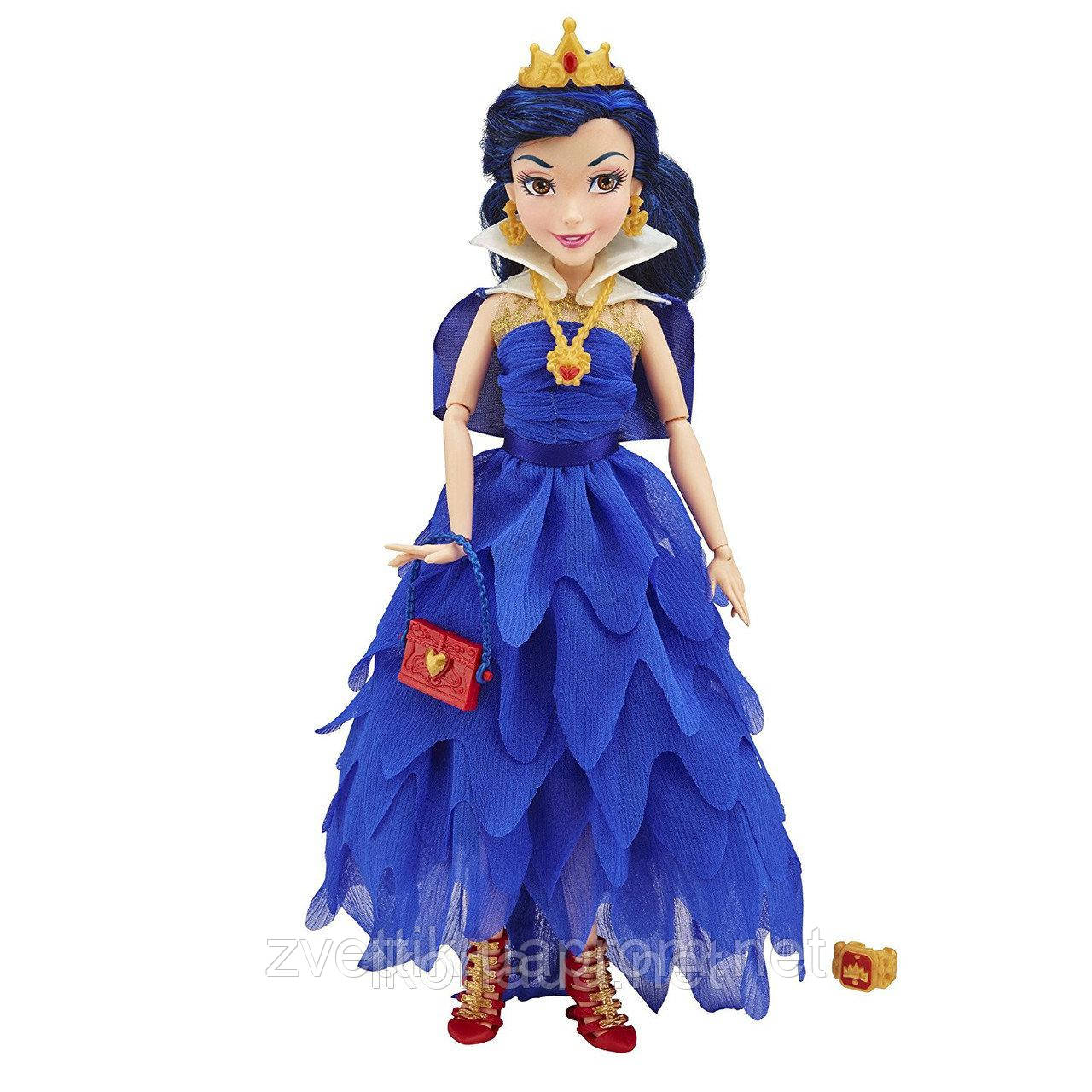 "а, Кукла Descendants Coronation Evie Isle of the Lost Doll Disney Эви шарнирная серия ""Коронация"""
