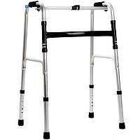 Ходунки для инвалидов универсальные 2 в 1 (фиксированные+шагающие) OSD EY 913