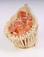 Гималайская соль, корзина прямая 4,5 кг