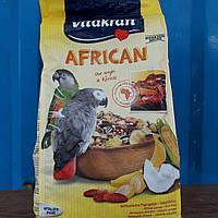 Корм для африканскийх папуг, жако сенегальских папуг