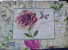 Покрывало с наволочками Karaca Home - Pink Time Country полиэстер 100% 250*260, фото 3
