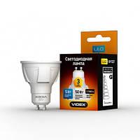 LED лампа VIDEX MR16 5W GU10 3000K 220V Premium
