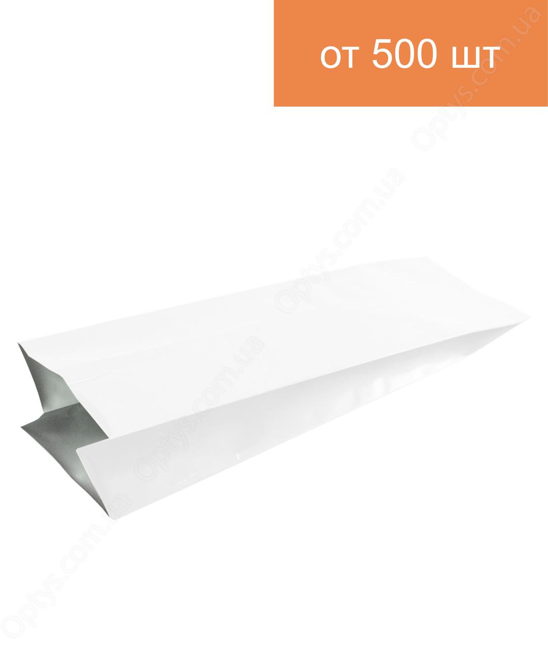 Пакет с центральным швом 250г Белый 80*250