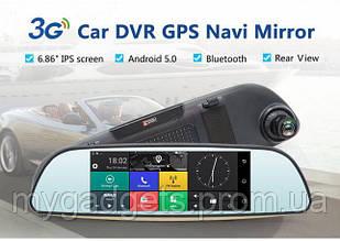 """Авторегистратор D35 (LCD 7"""", GPS + 2 камеры)"""