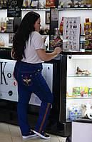 Джинсы с высокой посадкой для пышных женщин, с 48 по 82 размер, фото 1