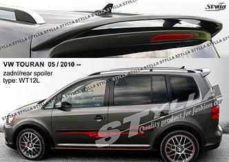 Спойлер козырек на багажник тюнинг Volkswagen Touran 2