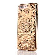 Силиконовый чехол Tropix на iPhone 6 plus / 6s plus Gold