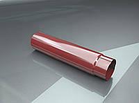 Труба водосточная 1 м для металлического водостока RAIKO 125/90