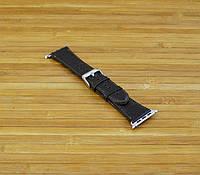 Ремешок Apple Watch Кожаный тёмно коричневый 42 mm