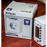 Розетка-таймер недельная электронная TM-211 Feron