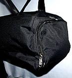 Спортивная дорожная серая сумка 45*20, фото 3