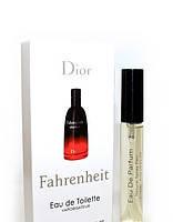 Мужской мини парфюмс феромонамиChristian Dior Fahrenheit (Кристиан Диор Фаренгейт) 10 мл