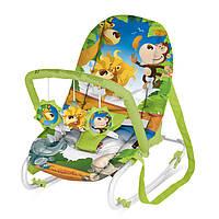 Кресло-качалка Bertoni Top Relax XL - Болгария - ручки переноски, дуга + 3 игрушки