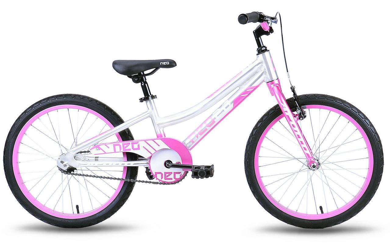 """Детский велосипед Apollo Neo Girls 20"""" розовый"""