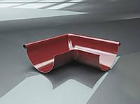 Поворот желоба внутренний 90 градусов для металлического водостока RAIKO 125/90