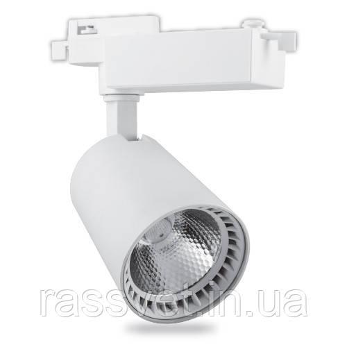 Трековый светильник Feron AL100 12W белый