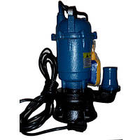 Фекальный насос чугунный корпус с измельчителем и насечками 1,5 кВт Lucon (гарантия 2 года)