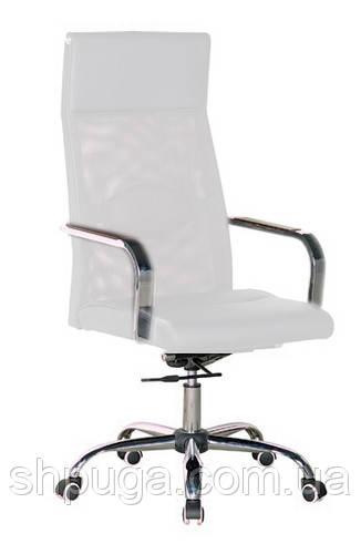 Кресло офисное Небраска, мультиблок, сетка, цвет белый
